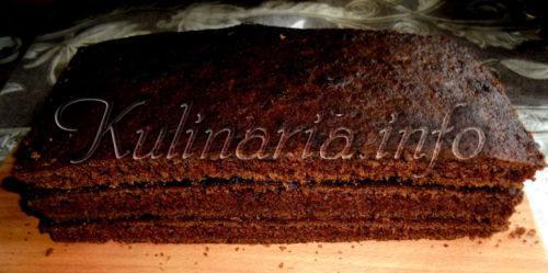 коржи брауни для торта