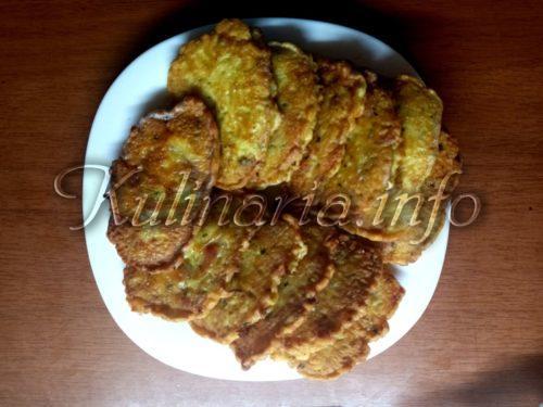 блнчики из кабачков с фаршем