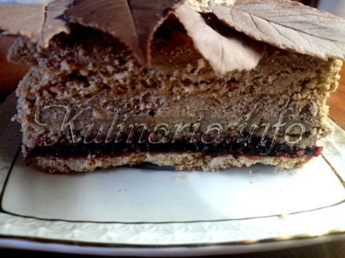 торт с вареньем