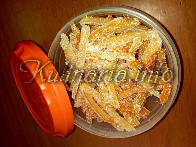 цытрусовые цукаты