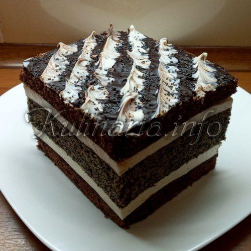 вкусный торт с маком рецепт