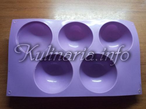 силиконовая форма для желе