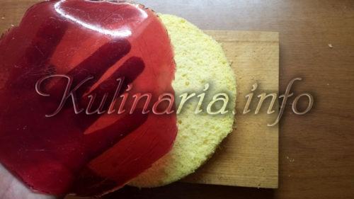 прослойка из ягод для торта
