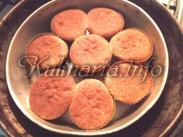кексы с духовки из творожного теста