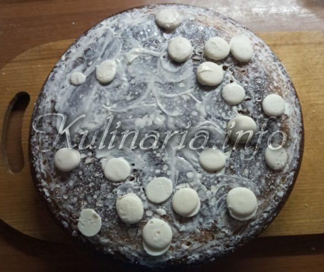 горячий пирог из творожного теста с мультиварки