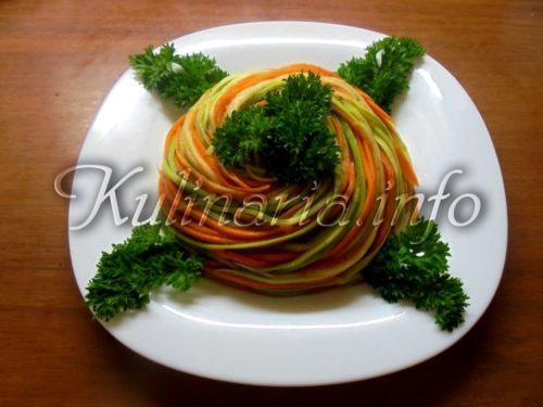 морковь и кабачок по-корейски