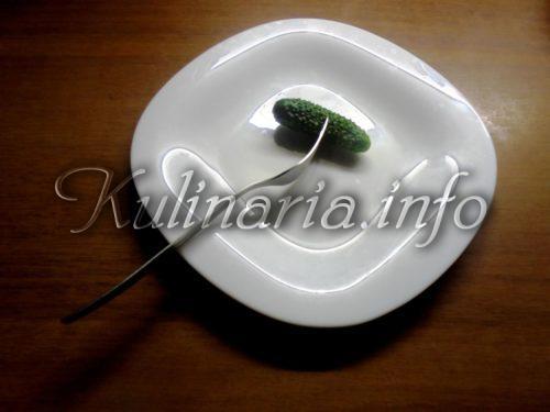 консервированные и маринованные огурцы