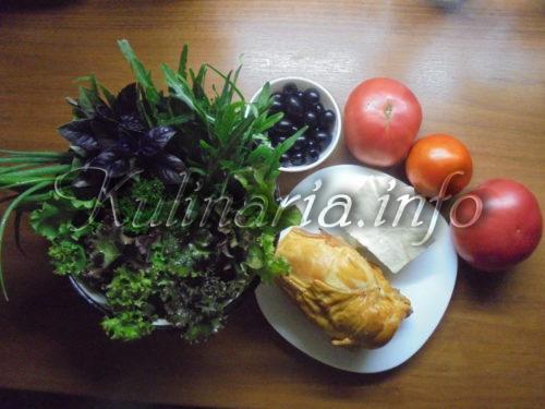 пошагово салат