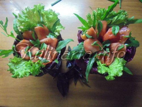 фото рецепт салата Цезарь