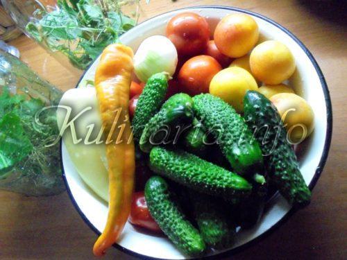 овощи для консервации