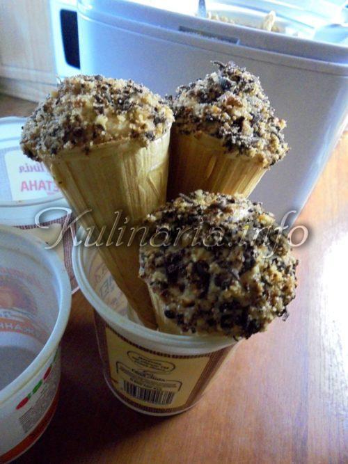 красивое мороженое подать
