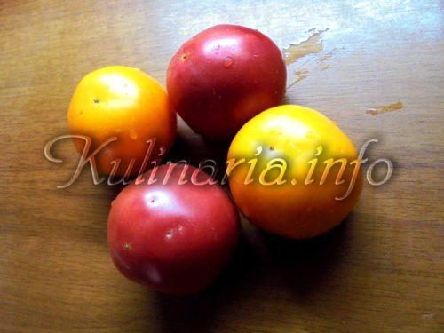 помидоры разноцветные