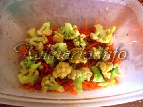 рецепт цветной капусты