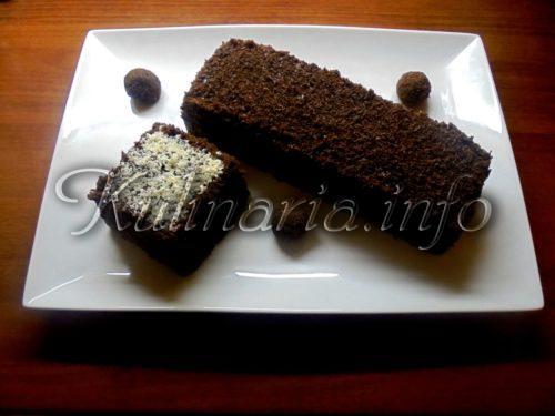 Торт Ночка и пирожное Картошка