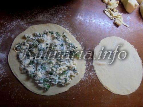 хачапури с творогом