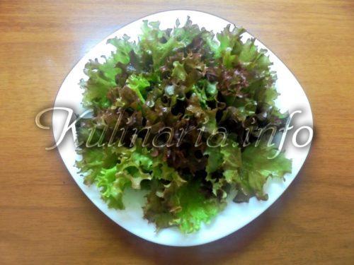 кимчи из листьев салата