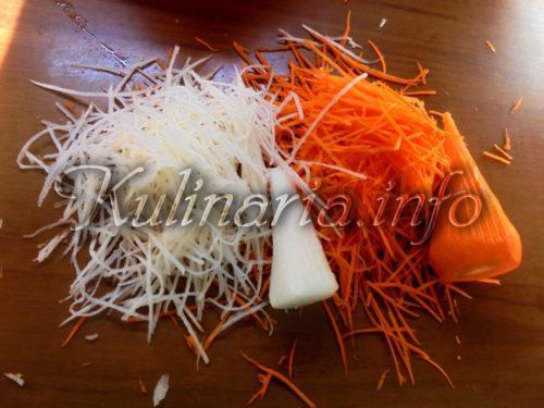 морковь для Хе