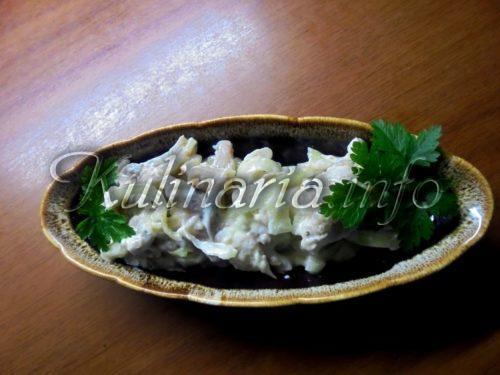 сельдь под белым соусом
