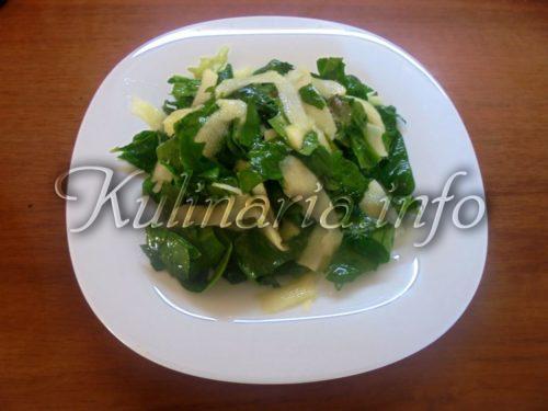 салат из листа салата рецепты