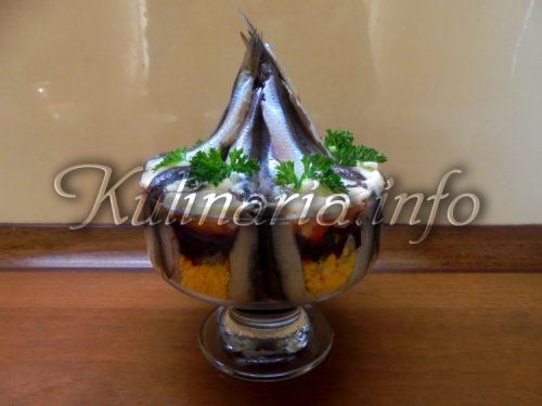 салат шуба с селёдкой