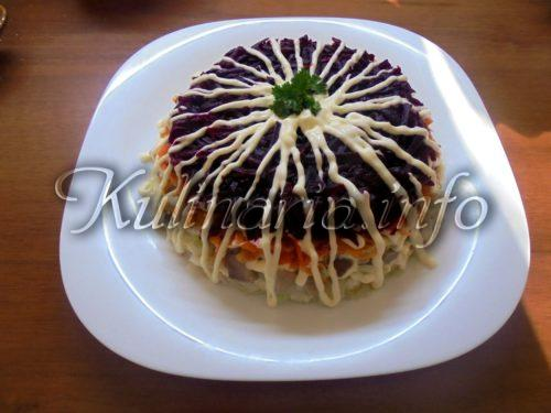 салат шуба
