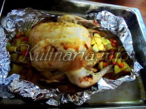 как запечь курицу быстро