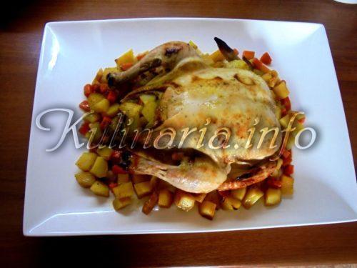рецепт как запечь курицу в духовке
