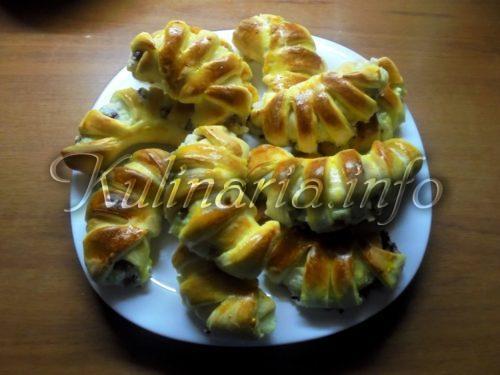 пирожки с творогом