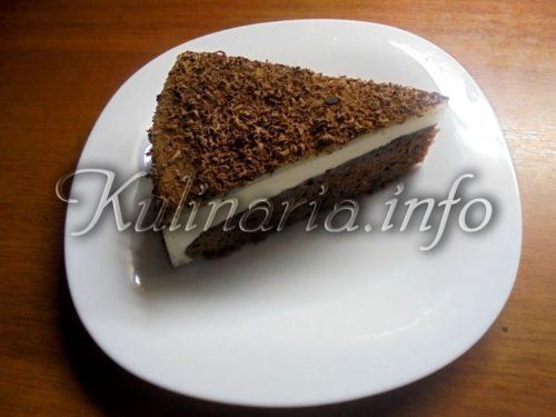 шоколадный бисквит и суфле