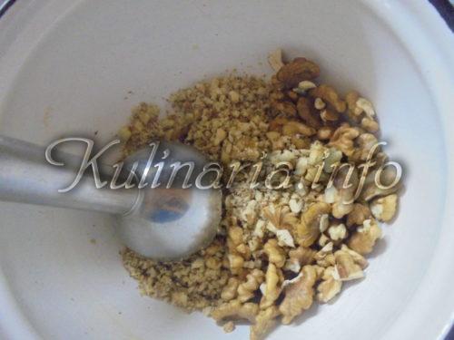 ореховая начинка для блинов