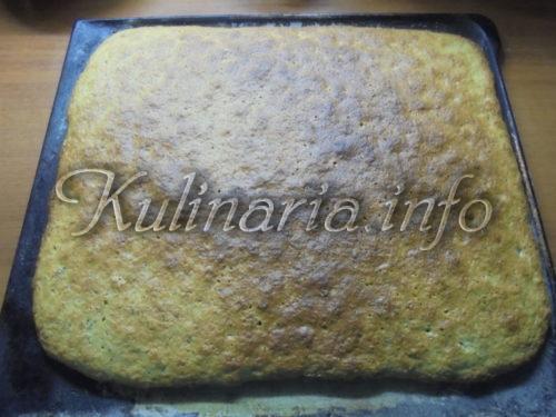 торт с ореховыми коржами