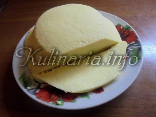 сыр из молока сметаны и яиц