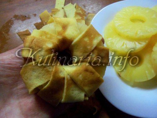 начинка для блинов с ананасами