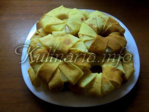 блины с ананасами