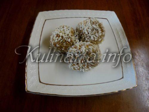 пирожное картошка с кокосовой стружкой