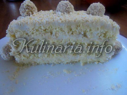 вкусный кокосовый торт
