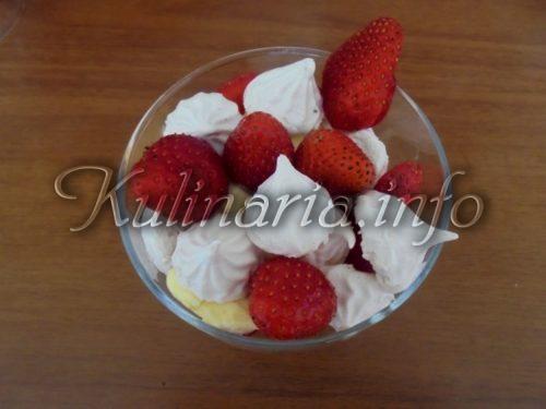 десерт клубника фото