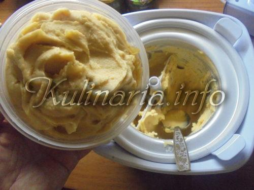 абрикосовое мороженое в домашних условиях мороженицей