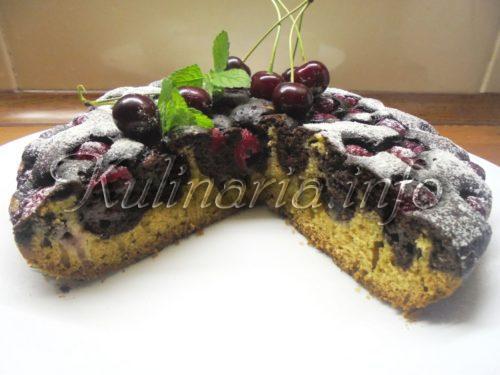 как приготовить вишнёвый пирог