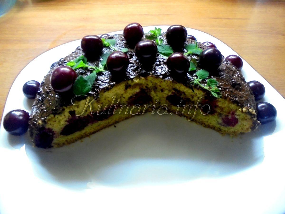 вишнёвый пирог фото
