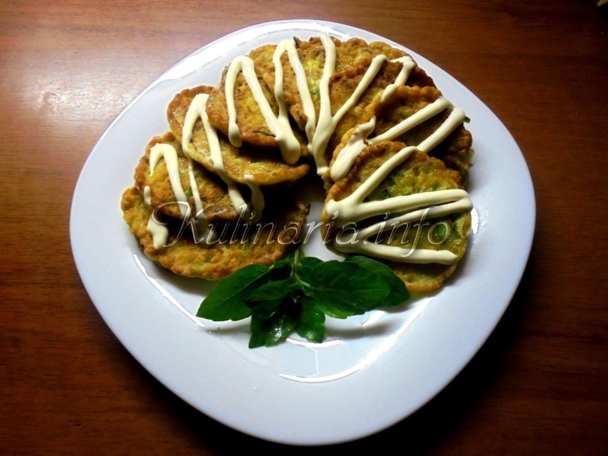 блинчики из кабачков рецепт