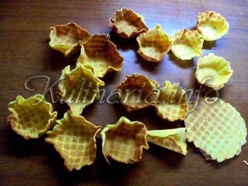 рецепт домашних вафель для тарталеток