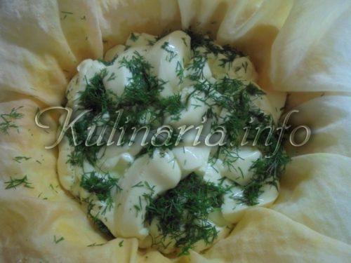 сыр фета с укропом