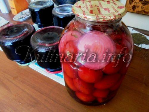 сок бузины с помидорами