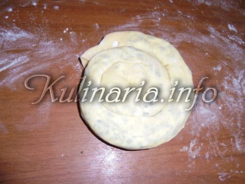 хачапури как улитка