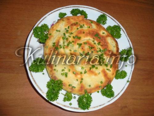 хачапури улитка