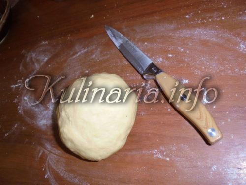 тесто для жареного пирожка