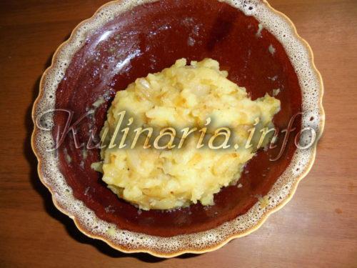 рецепт картошка тесто