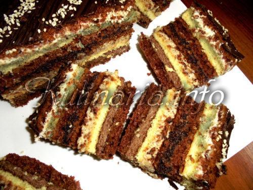 пирог брауни с черносливом