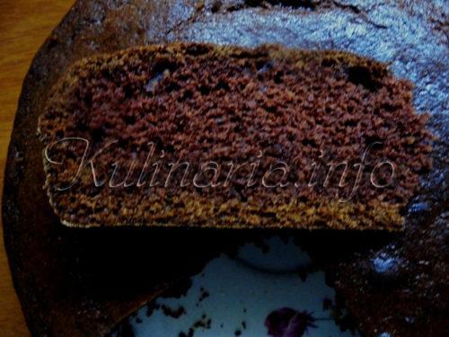 пирог брауни с какао